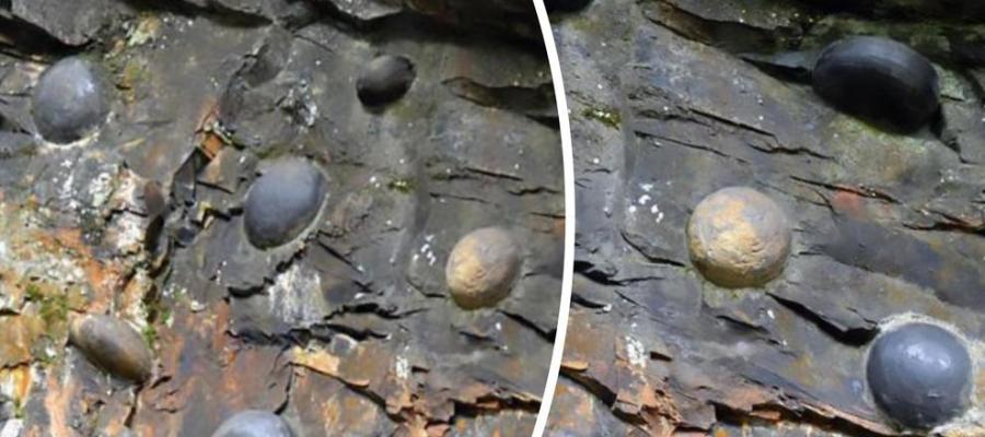 La #strana #roccia che produce uova: il #mistero che la scienza non riesce a spiegare
