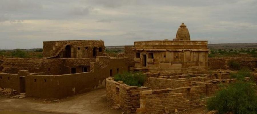 In #India c'è una #spettrale #oasi nel #deserto #abbandonata in una sola notte