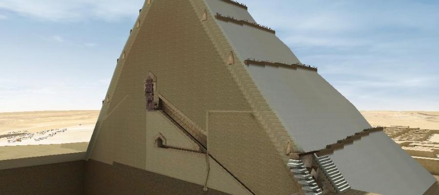 Un #trono di ferro #meteoritico: ecco cosa custodirebbe la stanza del #mistero della #piramide di #Cheope