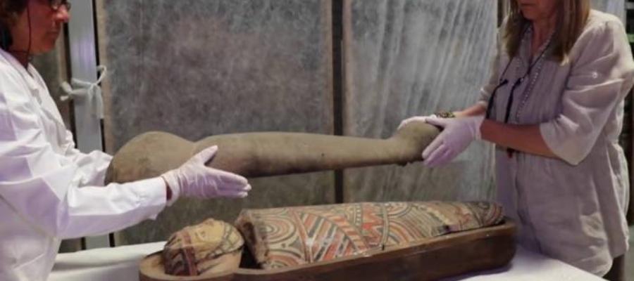 Il mistero della mummia bambino in mostra a Modena